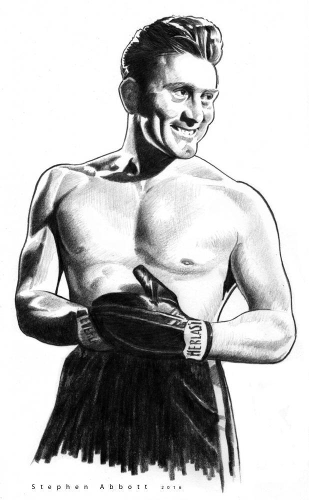 Kirk Douglas by StephenAbbott